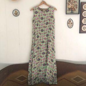 April Cornell • Oriental Umbrella Maxi Dress